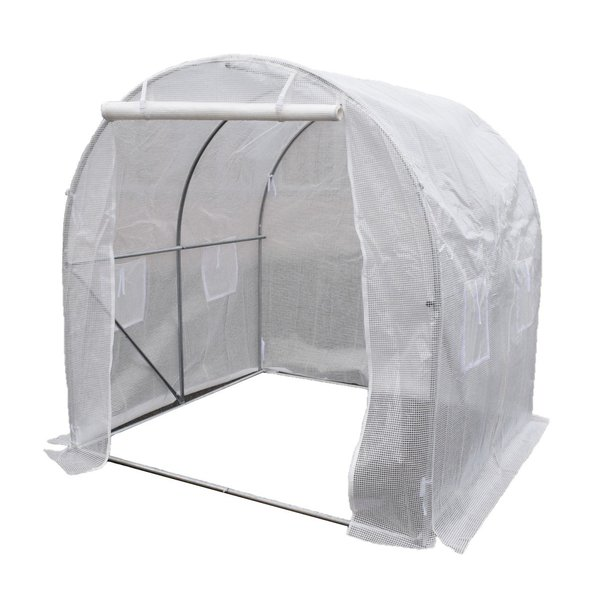 小型ハウス1坪長さ200×幅200×高さ200cm簡易ガレージフラワーハウス菜園ビニールハウスビニールハウス