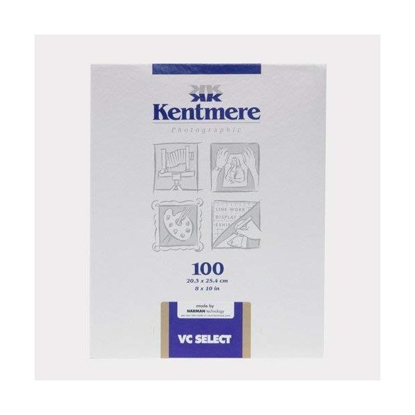 Kentmere 白黒印画紙 VC Select RC 1M Glossy 8X10 六切 100枚 6007418