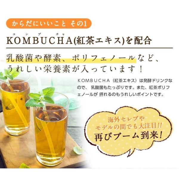 ダイエット 茶 コンブチャ+酵素 配合ドリンク KOMBUCHA+酵素720ml×2本セット 国産 紅茶キノコ クレンズ 酵素ドリンク|ooii|06