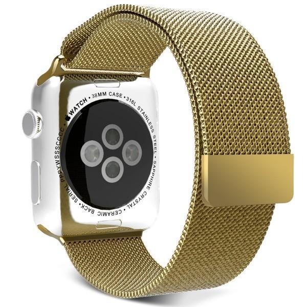 Apple Watch バンド ミラネーゼループ アップルウォッチ バンド ベルト おしゃれ seriese4 ookami 09