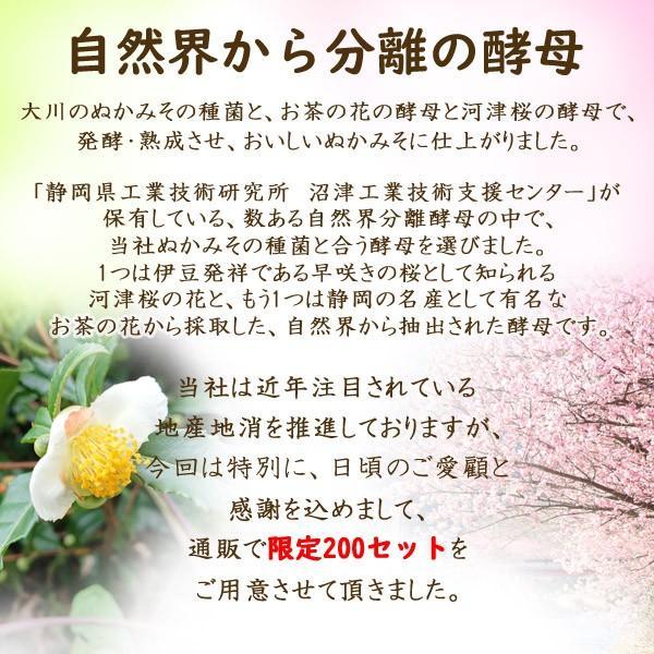 ぬか床 新商品「富士山ぬかみそ 駿河の恵み」 1kg|ookawa-syokuhin01|02