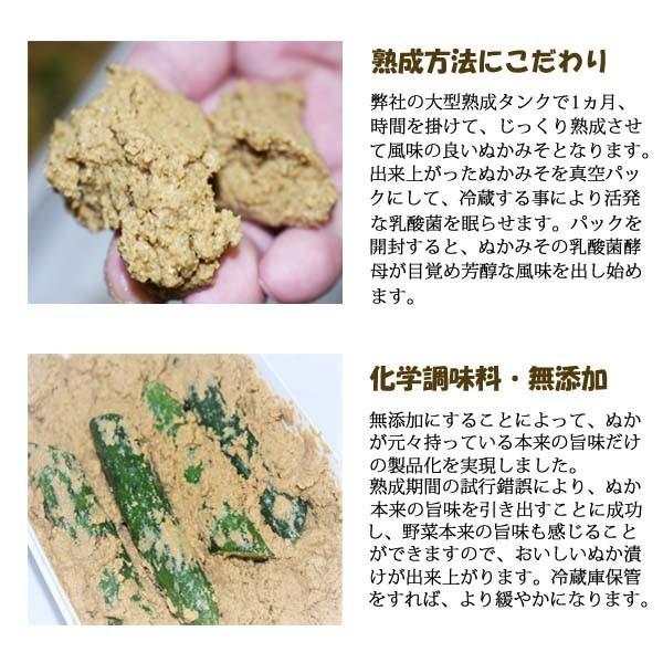 ぬか床 新商品「富士山ぬかみそ 駿河の恵み」 1kg|ookawa-syokuhin01|03