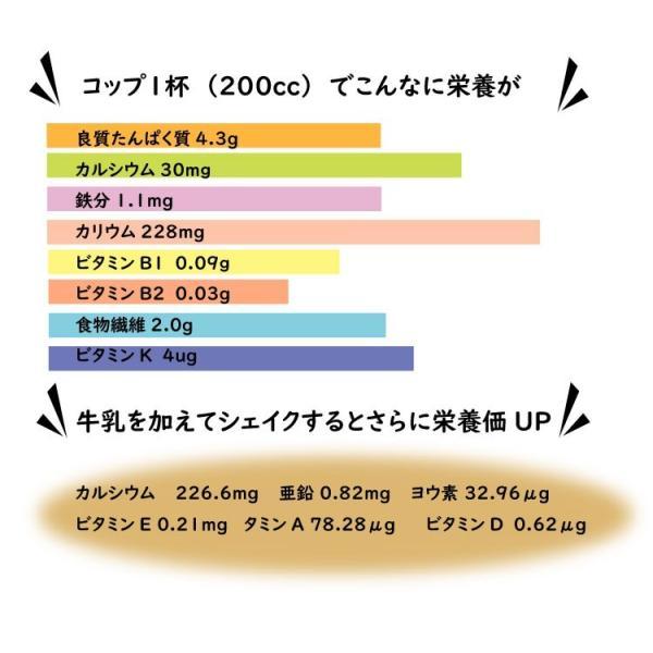きなココア  12g×30袋 きな粉ドリンク ココア・オリゴ糖・ショウガパウダー入り|ookawa-syokuhin01|04