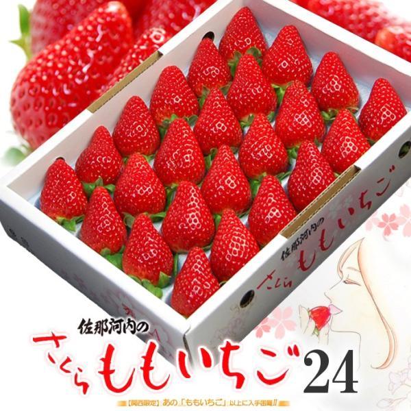 さくらももいちご(24粒 約700g)徳島産 いちご イチゴ 送料無料