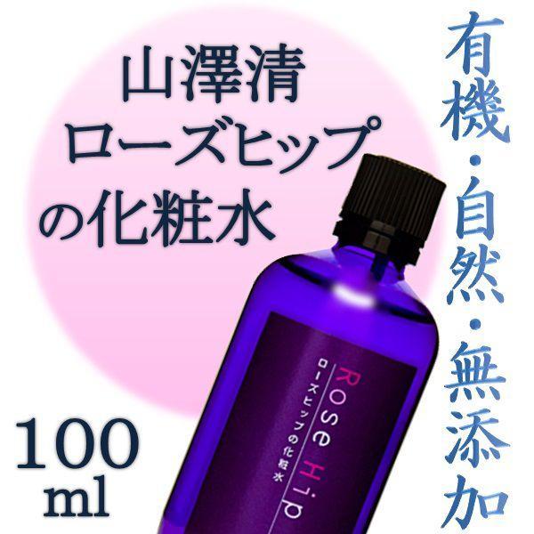 山澤清 ローズヒップの化粧水 100ml