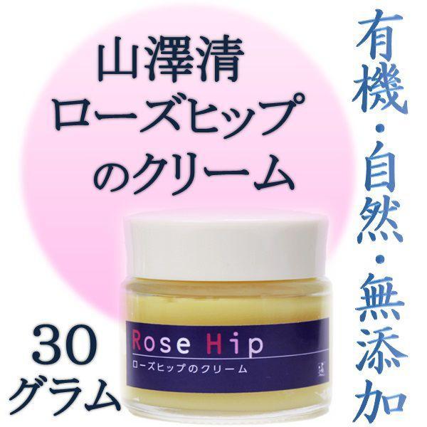 山澤清 ローズヒップのクリーム 30g