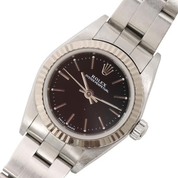 ロレックスROLEXオイスターパーペチュアル腕時計レディース中古