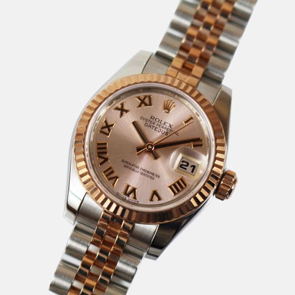 ロレックスROLEXデイトジャスト179171ランダムシリアル腕時計レディース中古