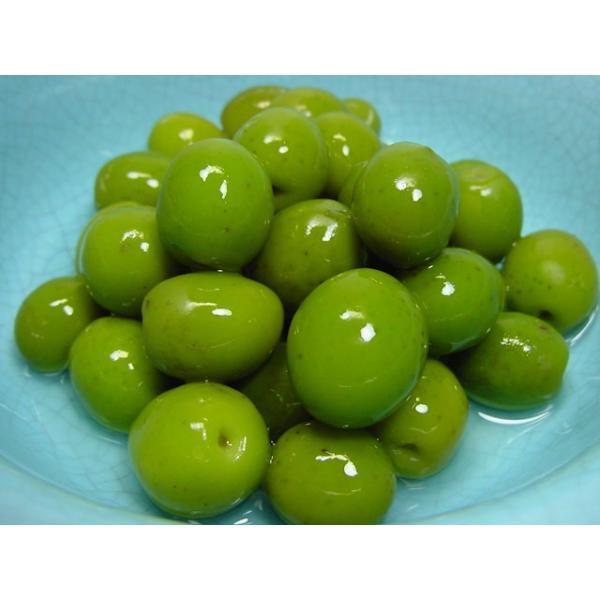アグリ オリーブ小豆島 オリーブ新漬け 100g ( 季節限定 オリーブの実 塩漬け 漬物 )|oomoriya|02