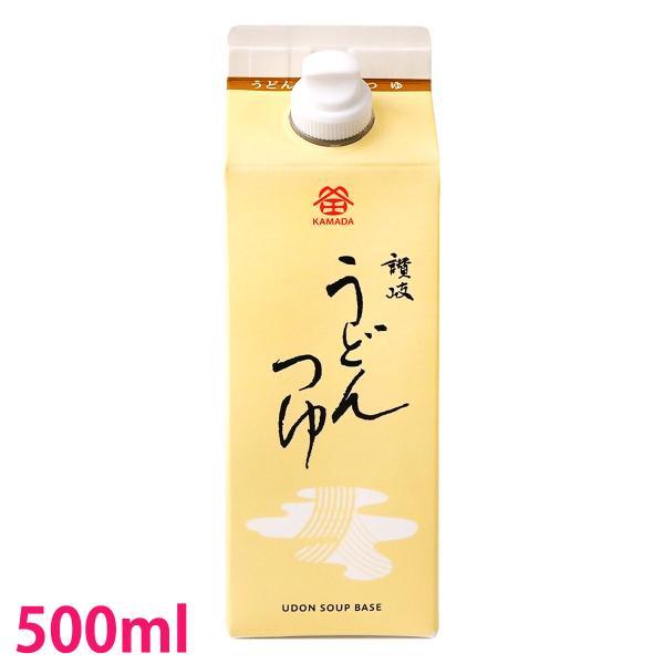 鎌田醤油 うどんつゆ 500ml 1本|oomoriya