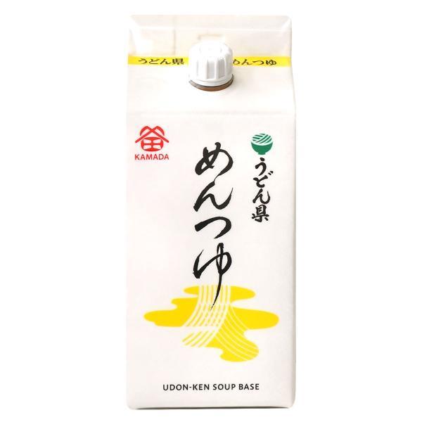 鎌田醤油 うどん県 ・ めんつゆ 200ml ( 香川県 讃岐うどんつゆ )