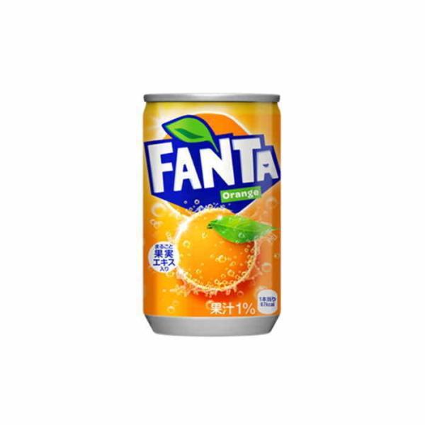 ファンタ オレンジ 缶 160ml 60本 30本×2ケース みかん ミカン コカコーラ コカ・コーラ 直送 ポイント消化