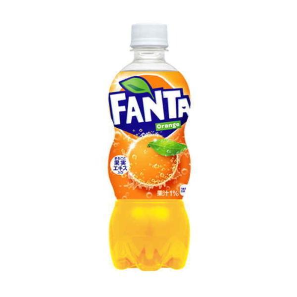 ファンタ オレンジ PET 500ml 24本×1ケース ミカン みかん コカコーラ コカ・コーラ 直送 ポイント消化