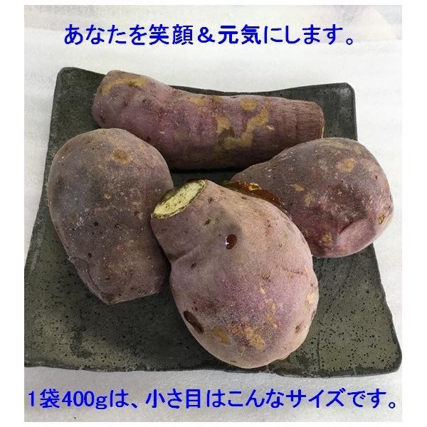 【増産100袋限定】この冷凍焼き芋で感動してください。こんな焼き芋食べたことない! あなたを笑顔&元気にする冷凍焼き芋(紅はるか)400g 家庭用  |oomugiya-isakoubou|06
