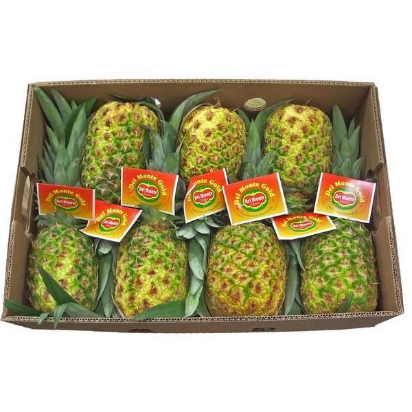 ゴールデンパイン(パイナップル) 1箱6〜8本入 フィリピン産