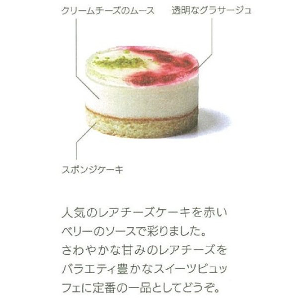 学園祭 お祭り TM セルクルムース レアチーズ*310g(10個)|ootuki|04