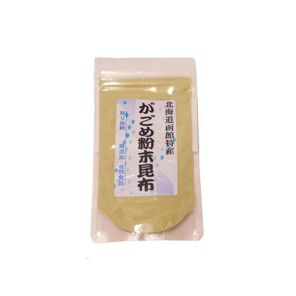 ホッカン 北海道函館産がごめ粉末昆布50g|ootuki