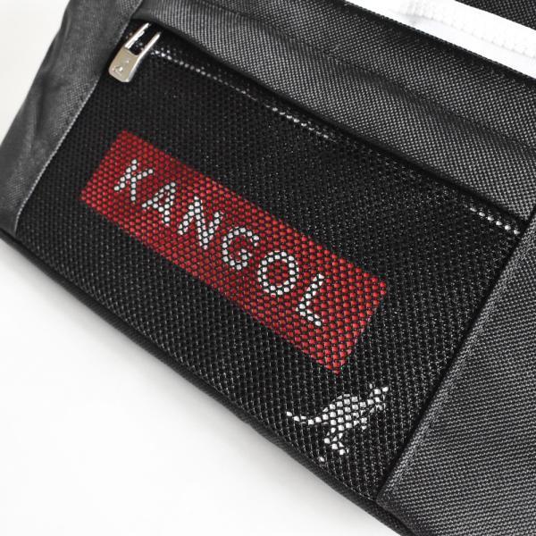 ウエストバッグ ボディバッグ カンゴール KANGOL メンズ レディース ブランド おしゃれ ウエストポーチ KGSA-BG00038 メール便送料無料