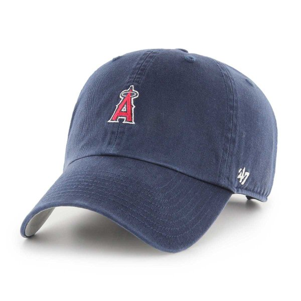 キャップ '47 フォーティーセブン ロサンゼルス エンゼルス Los Angeles Angels ミニロゴ 刺繍 メンズ レディース FORTYSEVEN 帽子 野球帽 メジャーリーグ