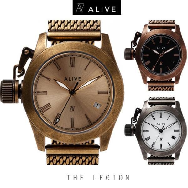 new styles 454a6 50edf アライブ 腕時計 アライヴ ALIVE WATCH 時計 watch 男女兼用 ALIVE ATHLETICS THE LEGION ザ・レギオン