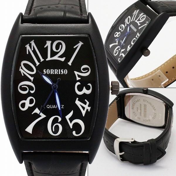 腕時計 レディース メンズ  ブランド トノー型ケース スパイラルナンバー シンプル かわいい おしゃれ ウォッチ