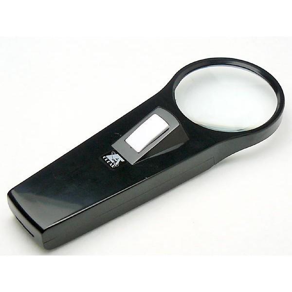 ルーペ 拡大鏡 ライト付き ライトルーペ CD-253