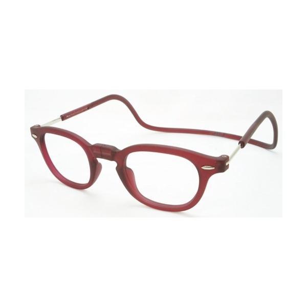 老眼鏡 シニアグラス clic readers 老眼鏡 クリックリーダーヴィンテージ clicreader-vg-bol ボルドー 敬老の日 プレゼント