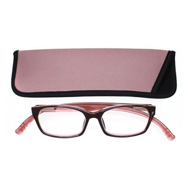 老眼鏡 シニアグラス おしゃれ 首かけ ネックリーダーウェリントン G091W-06C P&B 敬老の日 プレゼント