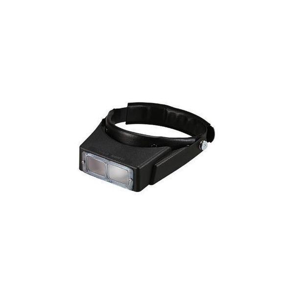【2.7倍・高級白ガラスレンズ】ヘッドルーペ・虫眼鏡 LH-112C 日本製