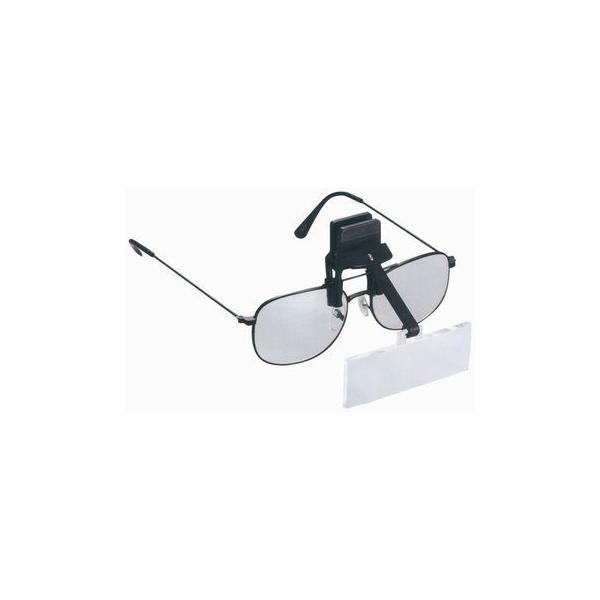 ルーペ 拡大鏡 双眼 ヘッドルーペ メガネクリップ式ヘッドルーペ LH-34