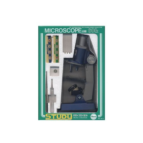顕微鏡セット(光源ランプ付・撮影可) M-M600