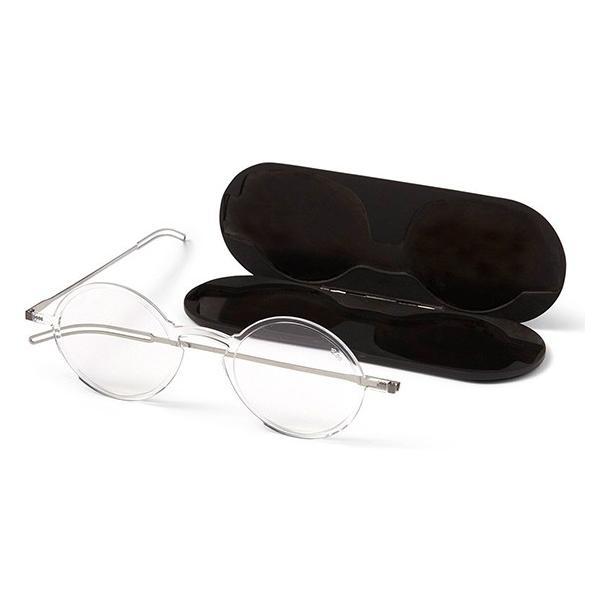 超軽量老眼鏡 驚異の薄さ おしゃれ 既製老眼鏡 シニアグラス THINOPTICS マンハッタン クリア 敬老の日 プレゼント
