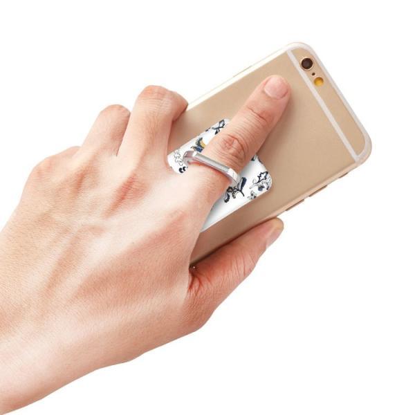スマホリング スマートフォン リング ホールドリング スタンド MURUA(ムルーア)×Gizmobies/PAISLEY FLOWER お取り寄せ option 04