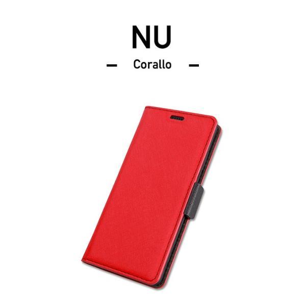 Xperia XZ3 ケース 手帳型 ストラップ 付き カード 収納 ポケット 付 Sony XperiaXZ3 ソニー エクスペリア XZ3 SO-01L SOV39 対応 Corallo NU お取り寄せ|option|03