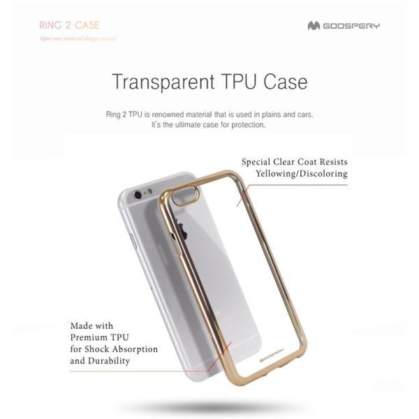 iPhone6s iPhone 6s Plus iPhone SE iPhone5s バンパー Mercury RING 2 シリコン TPU 耐衝撃 アイフォン6s|option|02