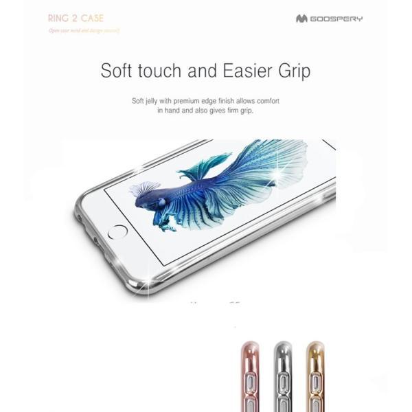 iPhone6s iPhone 6s Plus iPhone SE iPhone5s バンパー Mercury RING 2 シリコン TPU 耐衝撃 アイフォン6s|option|04
