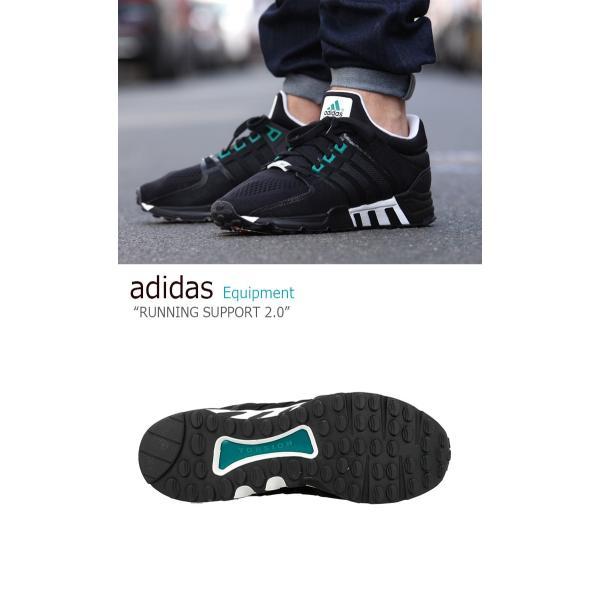 adidas Originals Equipment Running Support 2.0 Black アディダス Unisex S81484 シューズ スニーカー
