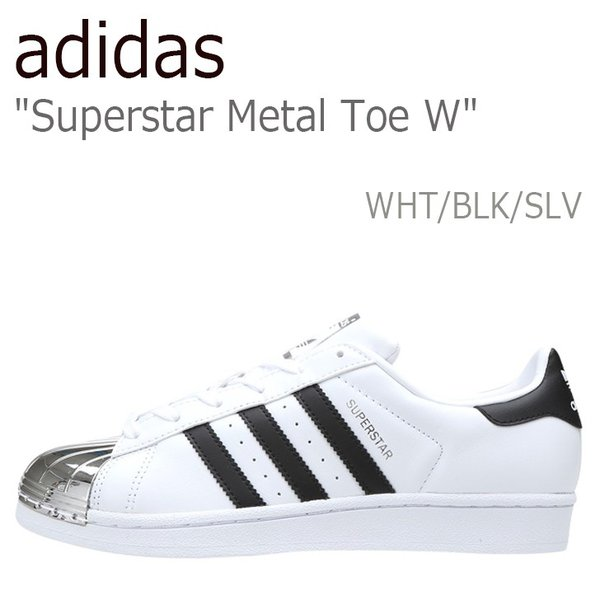 adidas Superstar Metal Toe W Running White Core Black Silver Metallic アディダス スーパースター メタル BB5114 シューズ