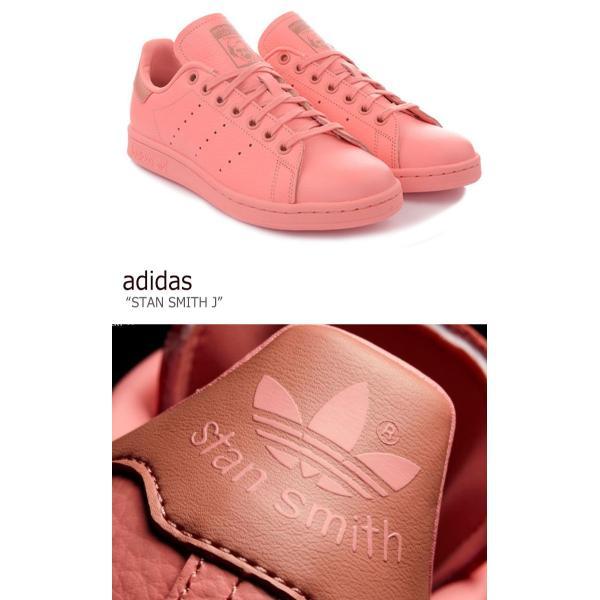 アディダス スタンスミス スニーカー adidas レディース STANSMITH J PINK ピンク CP9809 シューズ