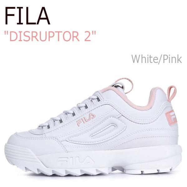 送料無料 ディスラプター2 シューズ レディース DISRUPTOR 2 メンズ ホワイト スニーカー フィラ FILA White FS1HTA1071X FLFL8A1U01