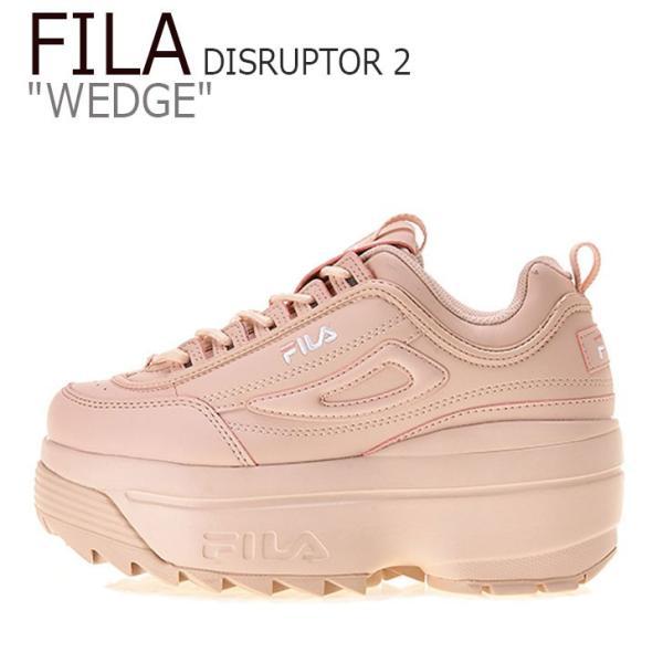 フィラ ディスラプター スニーカー FILA レディース DISRUPTOR 2 WEDGE ディスラプター2 ウエッジ PINK ピンク FS1HTB3033X シューズ|option