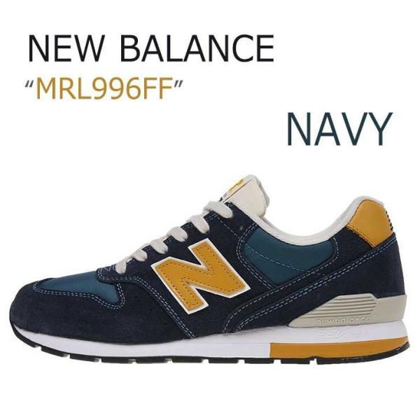 New Balance 996 Navy Mustard ニューバランス MRL996FF シューズ スニーカー option