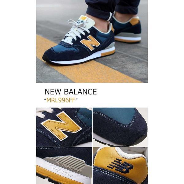 New Balance 996 Navy Mustard ニューバランス MRL996FF シューズ スニーカー option 04