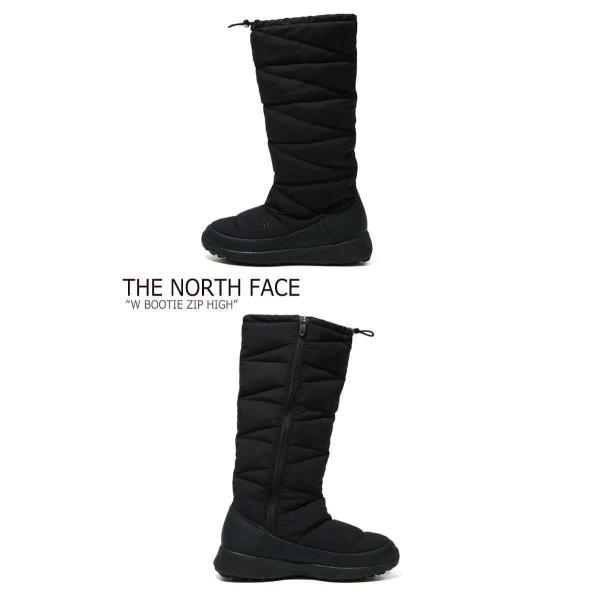 ノースフェイス ブーツ THE NORTH FACE レディース BOOTIE ZIP HIGH ブーティー ジップ ハイ BLACK ブラック NS99J53A シューズ