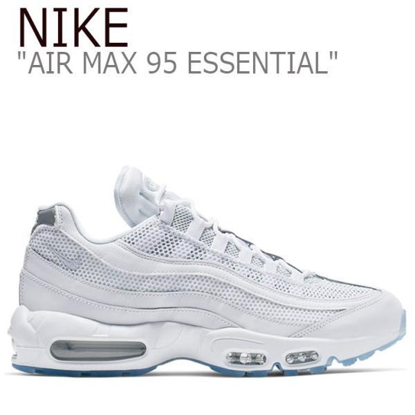 ナイキ スニーカー NIKE メンズ AIR MAX 95 ESSENTIAL エアマックス 95 エッセンシャル WHITE ホワイト 749766-115 シューズ|option