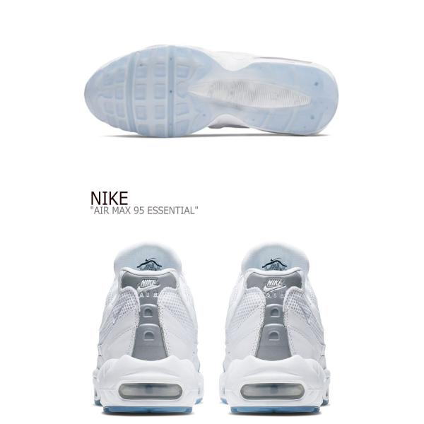 ナイキ スニーカー NIKE メンズ AIR MAX 95 ESSENTIAL エアマックス 95 エッセンシャル WHITE ホワイト 749766-115 シューズ|option|04