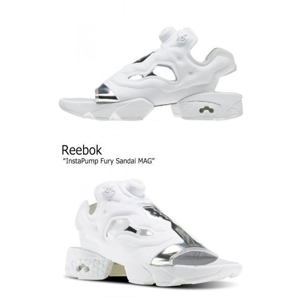 リーボック サンダル Reebok メンズ レディース INSTA PUMP FURY SANDAL MAG インスタ ポンプ フューリー WHITE ホワイト BD3186 シューズ