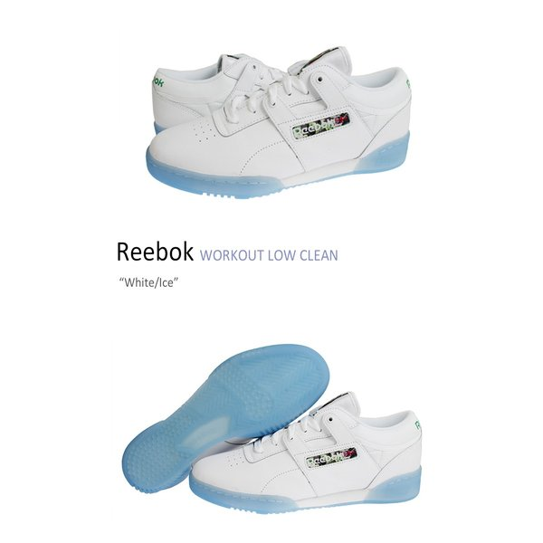 9d0d444499bb58 ... Reebok WORKOUT LOW CLEAN White Ice リーボック V67875 スニーカー シューズ|option| ...