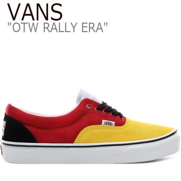 バンズ エラ スニーカー VANS メンズ OTW RALLY ERA ラリー エラ YELLOW イエロー VN0A4BV4VXV シューズ option