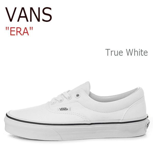 バンズ エラ スニーカー VANS メンズ レディース ERA TRUE WHITE トゥルーホワイト VN000EWZW001 シューズ|option